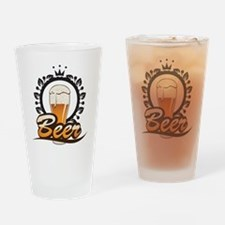 Beer King Drinking Glass