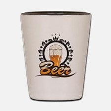 Beer King Shot Glass