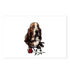 Afghan Hound Valentine Stole Postcards (Package of