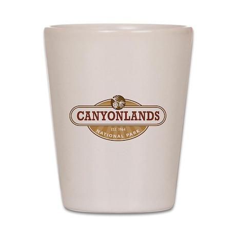 Canyonlands National Park Shot Glass
