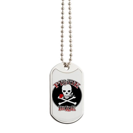 Pirate Bride Dog Tags