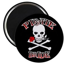 Pirate Bride Magnets