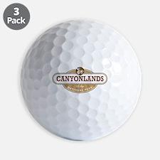 Canyonlands National Park Golf Ball