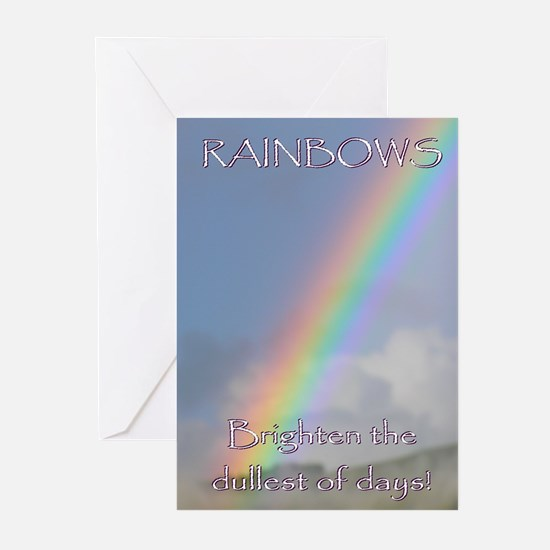 ...Rainbows... Note Card (Pk of 10)