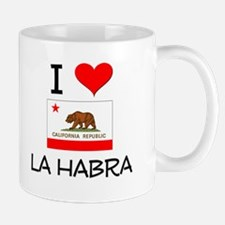 I Love La Habra California Mugs