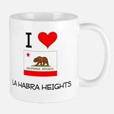 I Love La Habra Heights California Mugs