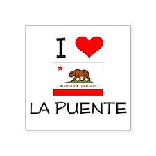 I Love La Puente California Sticker
