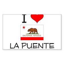 I Love La Puente California Decal