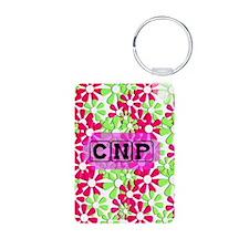 CNP Case pink green Keychains