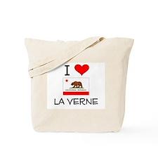 I Love La Verne California Tote Bag