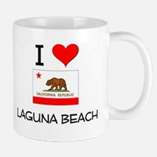 I Love Laguna Beach California Mugs