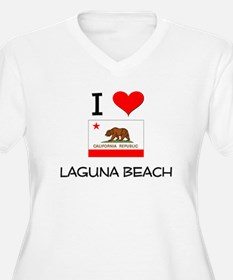 I Love Laguna Beach California Plus Size T-Shirt