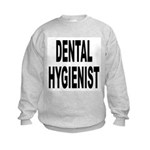 Dental Hygienist Kids Sweatshirt