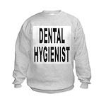 Dental Hygienist (Front) Kids Sweatshirt