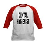 Dental Hygienist (Front) Kids Baseball Jersey