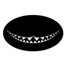 Cheshire Grin II Decal