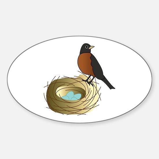 Birds Nest Decal