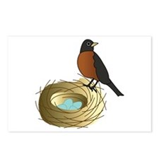 Birds Nest Postcards (Package of 8)