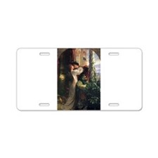 Romeo and Juliet Aluminum License Plate