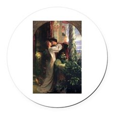 Romeo and Juliet Round Car Magnet
