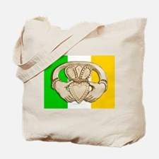 Irish Claddagh Tote Bag