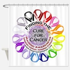 Finding the Cure for Cancer - Shower Curtain