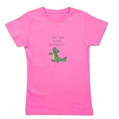 See you later, Alligator! Girl's Tee