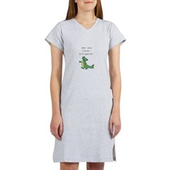 See you later, Alligator! Women's Nightshirt