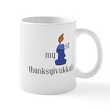 my first thanksgivvukah Mugs