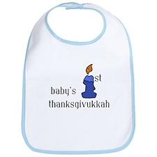 babys first thanksgivvukah Bib