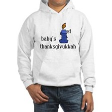 babys first thanksgivvukah Hoodie