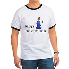 babys first thanksgivvukah T-Shirt