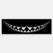 Cheshire Grin II Bumper Bumper Sticker