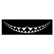 Cheshire Grin II Bumper Sticker