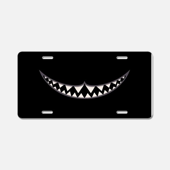 Cheshire Grin II Aluminum License Plate