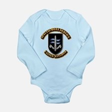 Special Boat Service - UK Long Sleeve Infant Bodys