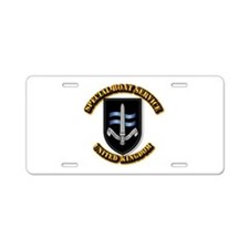 Special Boat Service - UK Aluminum License Plate