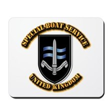 Special Boat Service - UK Mousepad