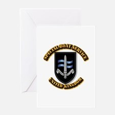 Special Boat Service - UK Greeting Card