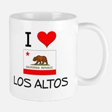 I Love Los Altos California Mugs