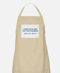 NY Resolutions  BBQ Apron