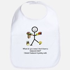 Balanced Diet Bib