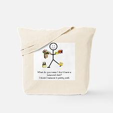 Balanced Diet Tote Bag