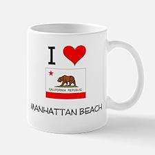 I Love Manhattan Beach California Mugs