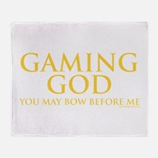 gaminggod_CPDark.png Throw Blanket