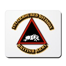 1st Armoured Division - UK Mousepad