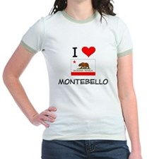 I Love Montebello California T-Shirt