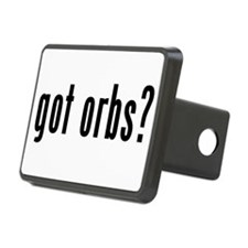 got orbs? Hitch Cover