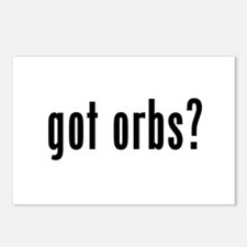 got orbs? Postcards (Package of 8)