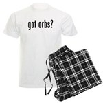 got orbs? Men's Light Pajamas